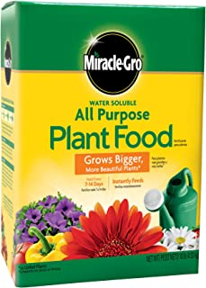 Miracle-Gro 1001193 3001192 All Purpose Plant Food-10 Pound, 10 LB Green