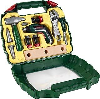 comprar comparacion Theo Klein 8394 MaletínIxolino de Bosch, Con martillo, llave inglesa y mucho más, Destornillador eléctrico Ixolino a pilas...