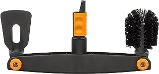 comprar comparacion Fiskars Limpiador de canalones, Raspador y cepillo ajustables, Largo: 4,5 cm, Negro/Naranja, 1001414