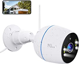 Sponsored Ad - Security Camera Outdoor, 1080P HD 2.4G WiFi Cameras for Home Security - Floodlight IP Surveillance Wireless...