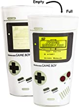 Paladone Nintendo Officially Licensed Merchandise - Color Changing Gameboy Pint Glass