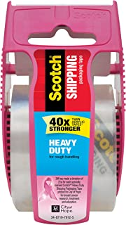 Scotch Heavy Duty Shipping Packaging Tape, 1.5