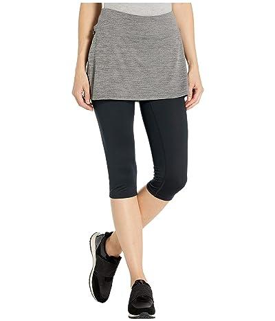 Skirt Sports Lotta Breeze Capri (Smoky Heather/Black) Women