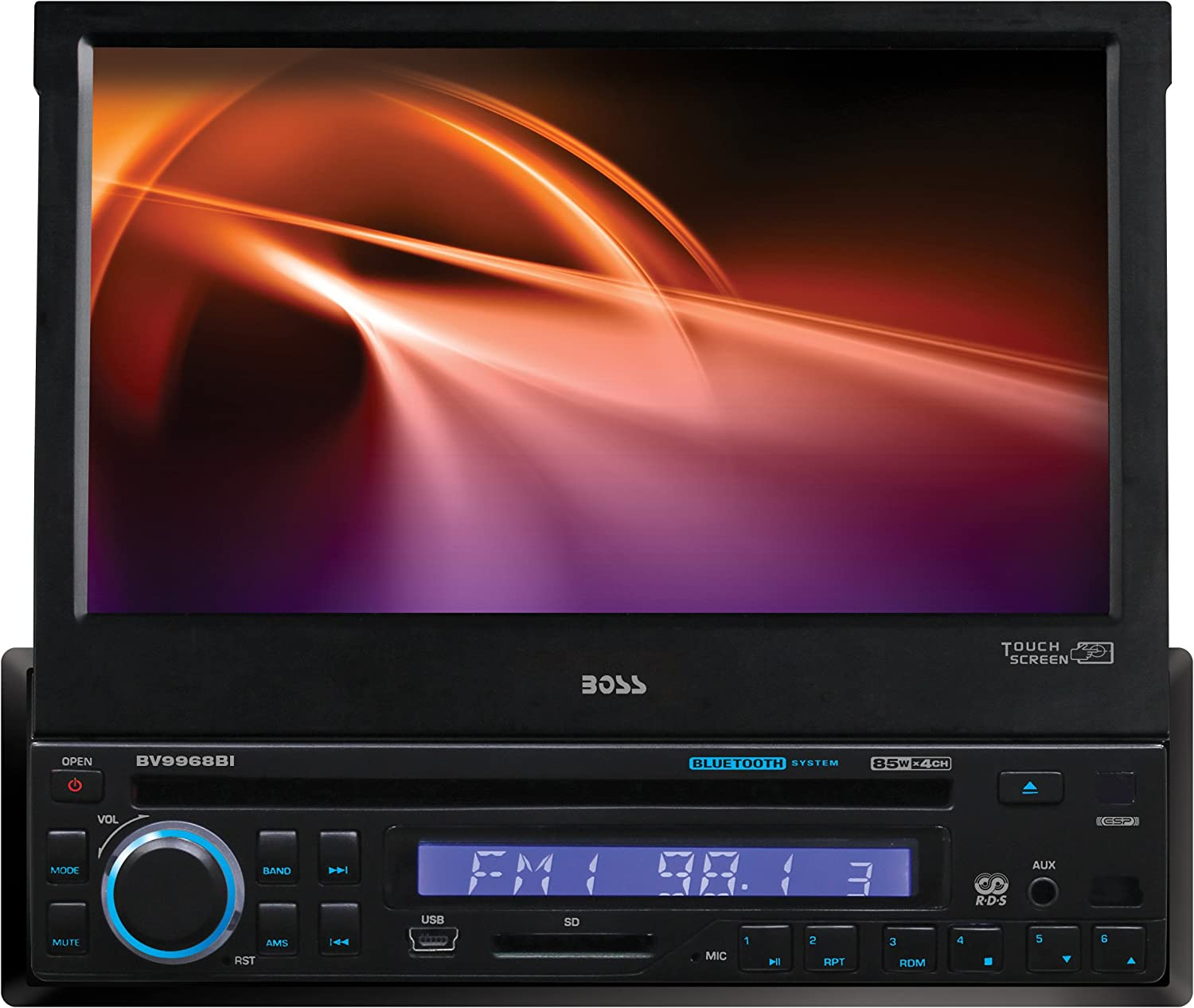 BOSS Audio OFFicial store Systems Quantity limited BV9968BI with Receivers DVD Monitors