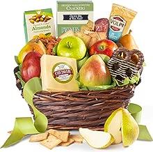 Fresh Fruit, Cheese & Charcuterie Gift Basket