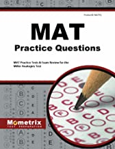 MAT Practice Questions (First Set): MAT Practice Test & Exam Review for the Miller Analogies Test