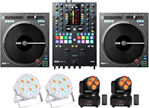 RANE SEVENTY-TWO DJ Mixer+(2) Twelve Turntables+(2) Moving Heads+(2) Wash Lights