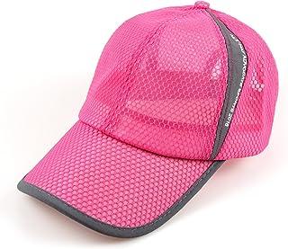 FADA Quick Dry Sports Hat Lightweight Breathable Soft Outdoor Run Cap Men s  Sun Caps for Tennis 0a392d896ccd