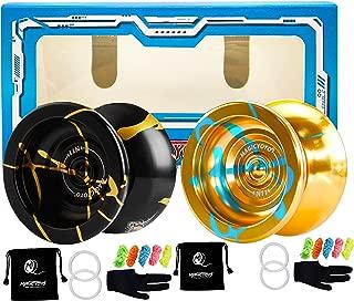 MAGICYOYO N11 Professional Unresponsive Yoyo Alloy Aluminum YoYo Ball with 2 Bags, 2..