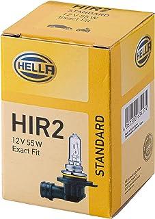 HELLA 8GH 009 319 001 Glühlampe   HIR2   Standard   12V   55W   Sockelausführung: R 37   Schachtel   Menge: 1