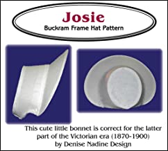 Sewing Pattern - Josie Bonnet Pattern - Late Victorian Era or Steampunk Inspired