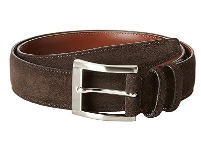 Torino Leather Co. 35MM Italian Calf Suede (Brown) Men