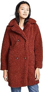 MKT Studio Womens Madime Sherpa Coat
