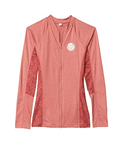 Rip Curl Trestles Long Sleeve Rashguard (Red) Women