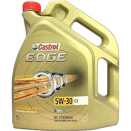 Oil Castrol 157bdb Edge 5 W30 C3 5 Litre Auto