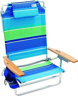 Rio Beach Big Kahuna Extra Large Folding Beach Chair - More Than A Blue Stripe