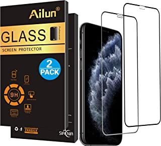 AILUN Ailun Screen Protector Compatible iPhone X/Xs,iPhone 10,[2 Pack],Notch Full Coverage,2.5D Edge Tempered Glass for iP...