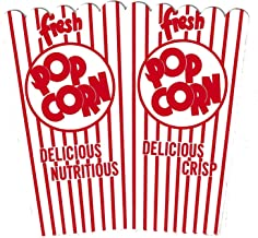 Perfect Stix PopcornBox44E-25 Open Top Popcorn Boxes (44E) (Pack of 25)