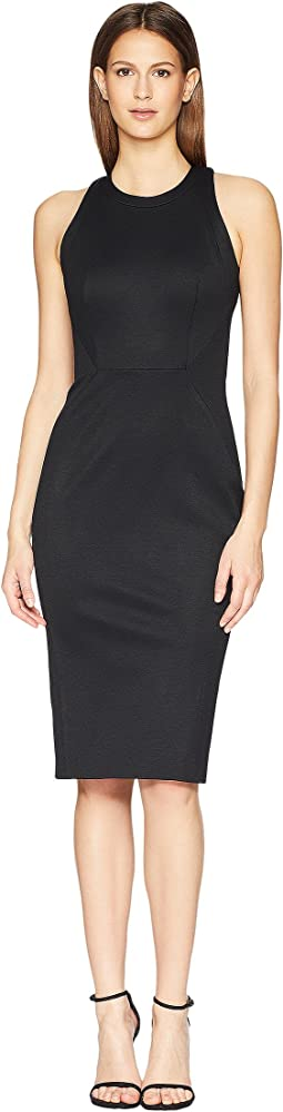 Zac Posen Bondage Jersey Sleeveless Dress