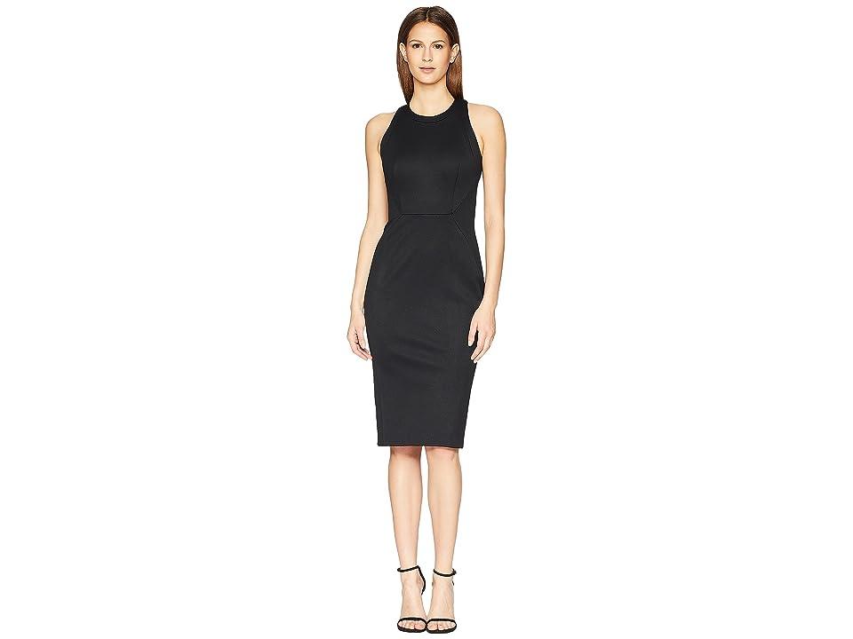 Zac Posen Bondage Jersey Sleeveless Dress (Black) Women