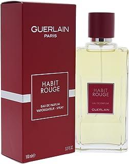 62c92f31da Guerlain Habit Rouge Eau de Parfum Spray for Men, 3.3 Ounce