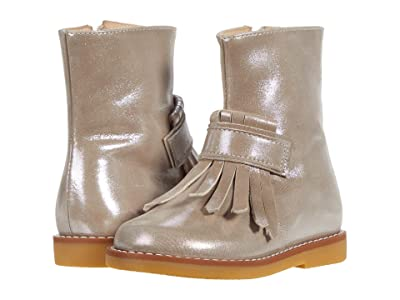 Elephantito Bootie w/ Fringes (Toddler/Little Kid/Big Kid) (Metallic Blush) Girls Shoes