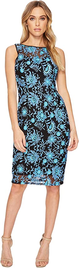 Adrianna Papell - Marrakesh Embroidery Sheath Dress