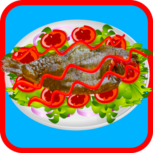 Seafood Restaurant Blitz Cooking game