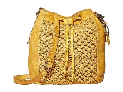 FRYE AND CO. Esme Bucket Bag (Daffodil) Handbags