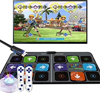 Dance Pad for Kids Adults, Musical Play Mat Dancer Blanket with HDMI Output, Non-Slip Dancer Step Pads Sense Game, Compati...