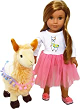 Llama Llama Ready For the Show Outfit Compatible with American Girl Dolls-18 Inch Doll Clothes