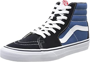 Vans Men's Vd5Invy Sk8-Hi Canvas Skate Shoe 8 M US Women / 6.5 M US Men Navy