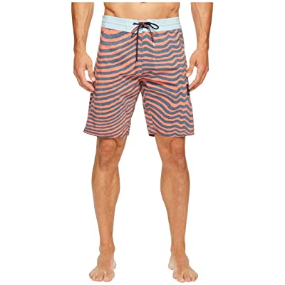 Volcom Mag Vibes Slinger 19 Boardshorts (Bright Orange) Men