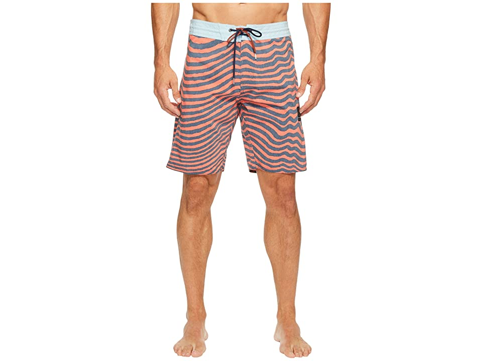 Volcom Mag Vibes Slinger 19 Boardshorts (Bright Orange) Men