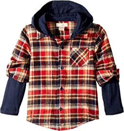 PEEK - Ace Plaid Hoodie (Infant)