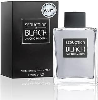 Seduction In Black for Men Eau De Toilette Spray, 6.75 Ounce
