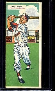 1955 Topps Double Header Baseball #037 37-38 Moon/Cunningham STARX 4 VG/EX (CS27338)