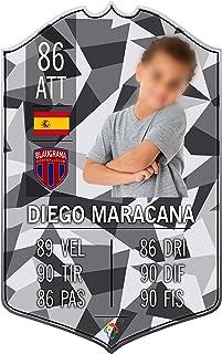Adesivo Murale - Card Personalizzata FUT Player - Camouflage Geometric - Plug Calcio Soccer Cameretta Idea Regalo Squadra ...