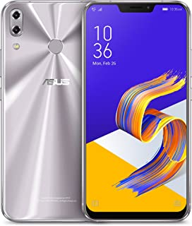 "ASUS ZenFone 5Z (ZS620KL-S845-6G64G) - 6.2"" FHD+ 2160x1080 display - 6GB RAM - 64GB storage - LTE Unlocked Dual SIM Cell Phone - US Warranty - Meteor Silver"