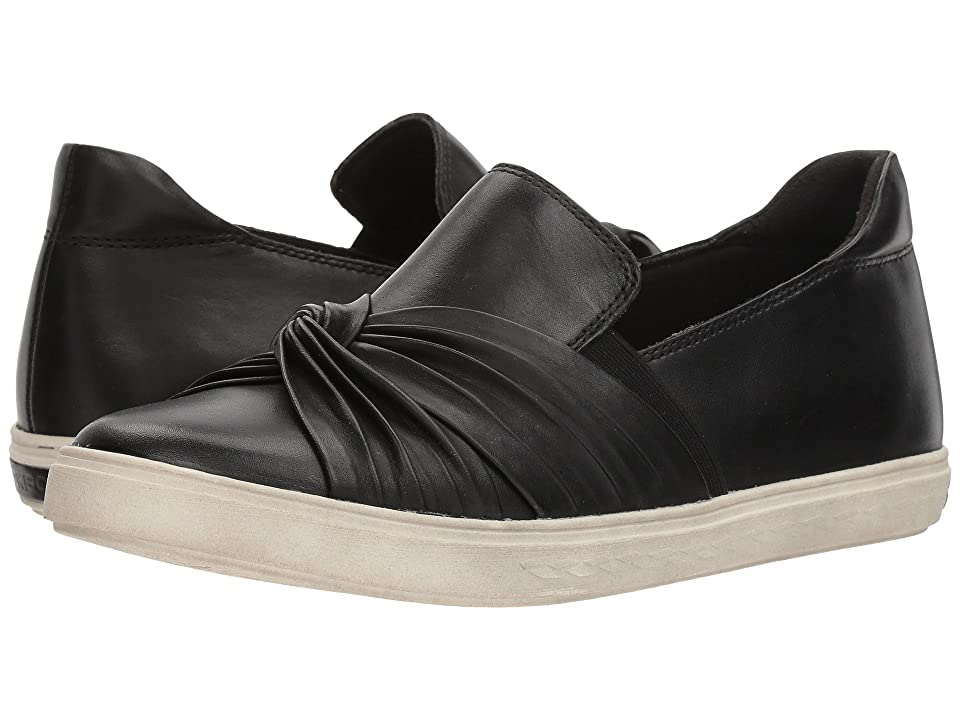 Rockport Cobb Hill Collection Cobb Hill Willa Bow Slip-On (Black Leather) Women