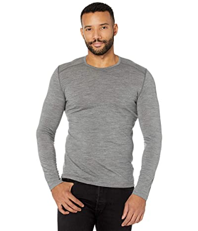 Icebreaker Oasis Mid-Weight Merino Long Sleeve Crewe (Gritstone Heather 2) Men