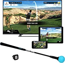 شبیه ساز بازی Phigolf Mobile and Home Smart Golf با Swing Stick - WGT Edition 2019
