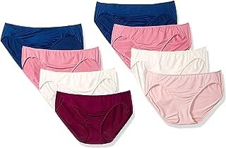 Hanes Women's 8 Pack Microfiber Bikini
