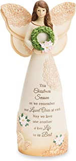 """Light Your Way Pavilion Gift Company 19164 May we Love One Another & Life to its Best 7.5"""" Angel Figurine"""