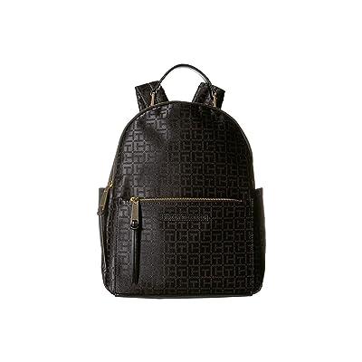 Tommy Hilfiger Althea Backpack (Black/Tonal) Backpack Bags