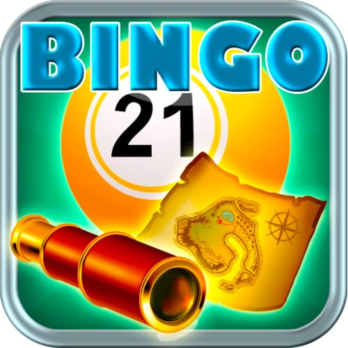 Treasure Hunters Bingo Free Pirates Vacation Telescope Atlas Expedition Bingo HD 2015 Casino Jackpot Vegas Best Bingo Free App for Kindle Tablets Mobile Casino Daubers Bingo Balls