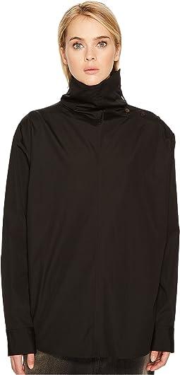 Y's by Yohji Yamamoto - U-Shoulder Button Hns Woven Shirt