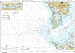 Paradise Cay Publications NOAA Chart 11415: Tampa Bay Entrance; Manatee River Extension, 35.5 X 50.3, TRADITIONAL PAPER