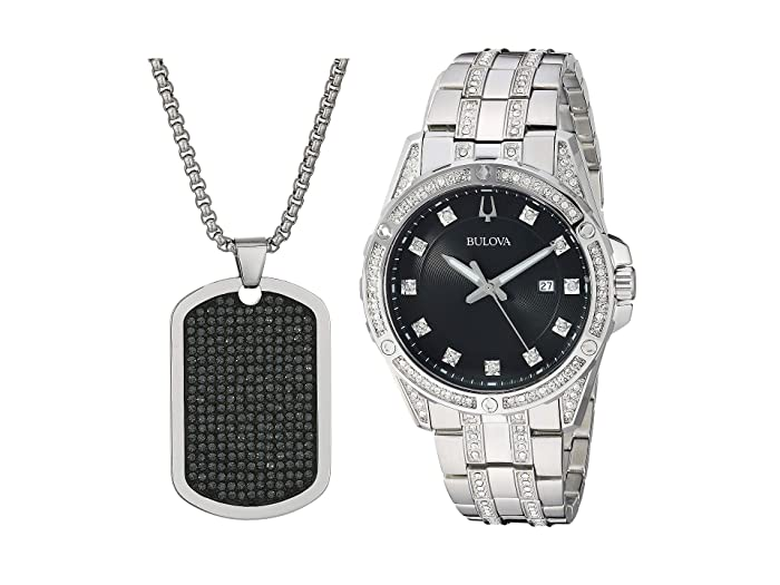 Bulova  Box Set - 96K104 (Stainless Steel) Watches