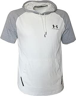 Men's Short Sleeve Light Hooded Shirt Hoody